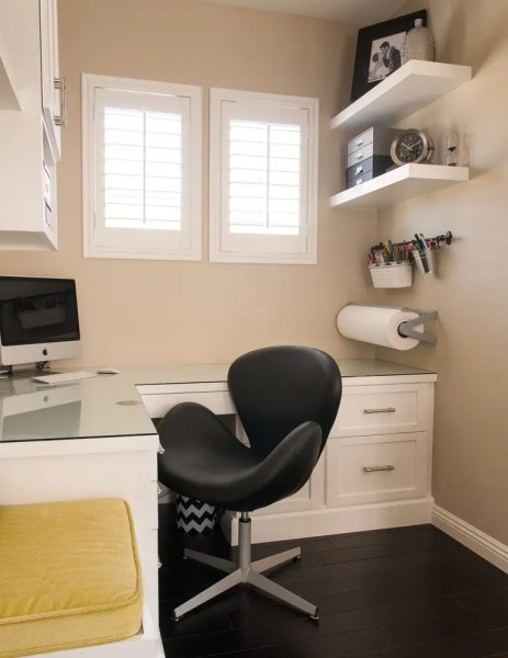 small home office design ideas 57 Cool Small Home Office Ideas - DigsDigs
