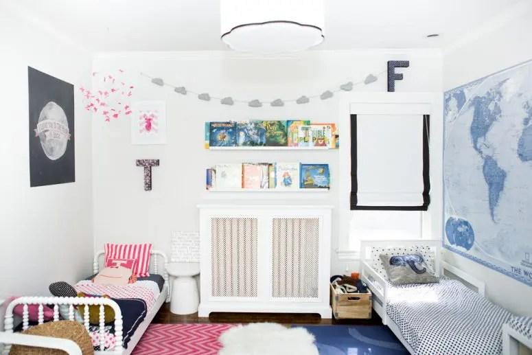 Pinterest Girls Kids Rooms With Wood Wallpaper 45 Wonderful Shared Kids Room Ideas Digsdigs