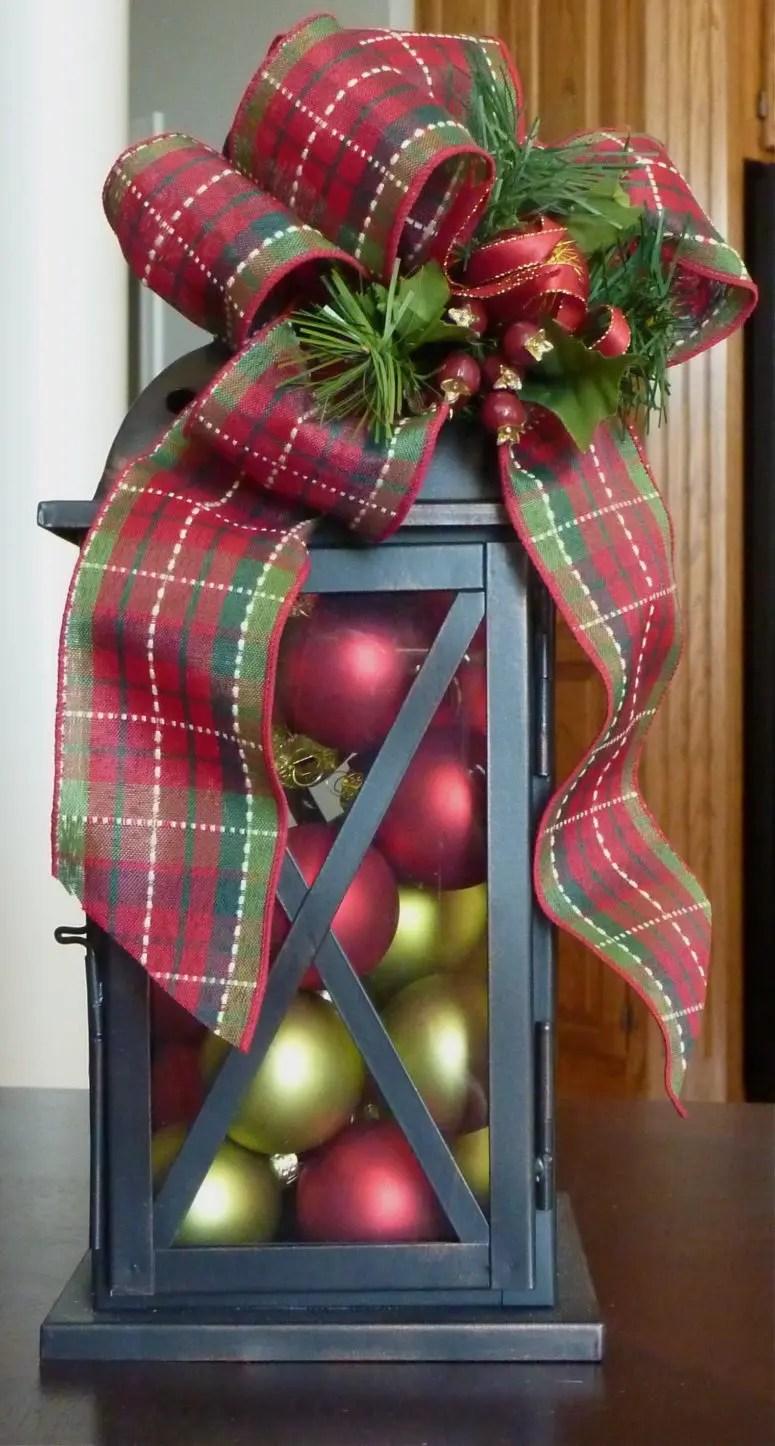 Decorated Christmas Lanterns