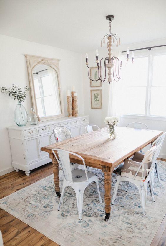 41 beautiful shabby chic dining room