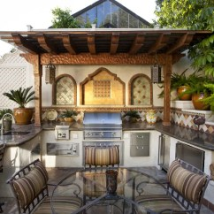 Summer Kitchen Ideas Design And Layout 95 Cool Outdoor Designs Digsdigs Adding Some Oriental Touches Would Make The Space Look More Cozy