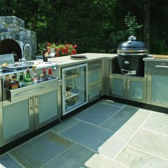 Outside Kitchen Designs Movable Cabinets 95 Cool Outdoor Digsdigs Kamado Grill Is One Of The Best Types An Equipment There