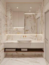 74 Luxurious Marble Bathroom Designs - DigsDigs