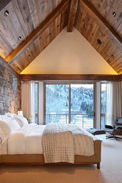 modern rustic bedroom 65 Cozy Rustic Bedroom Design Ideas - DigsDigs