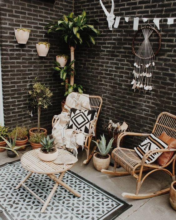 57 beautiful bohemian patio designs