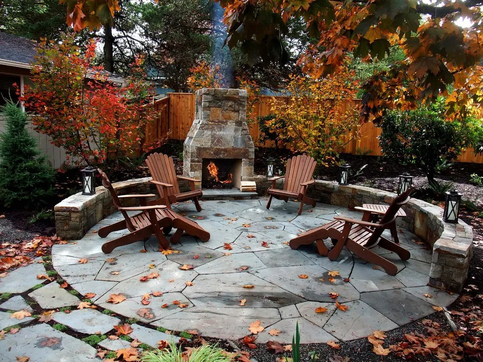 55 Cozy Fall Patio Decorating Ideas