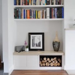Small Living Room Cabinet Home Entertainment 60 Simple But Smart Storage Ideas Digsdigs Niches Are Perfect For Organized Built In Solutions Even Shelves Looks Great