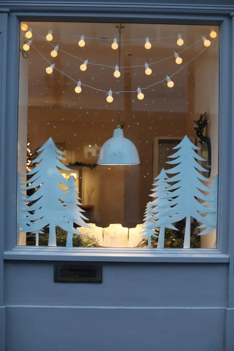 70 Awesome Christmas Window Dcor Ideas