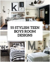 55 Modern And Stylish Teen Boys' Room Designs - DigsDigs