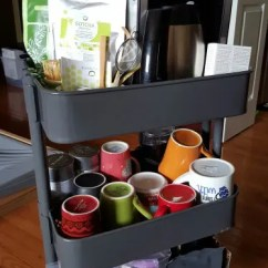 Rolling Cart For Kitchen Tall Round Table 60 Smart Ways To Use Ikea Raskog Home Storage ...