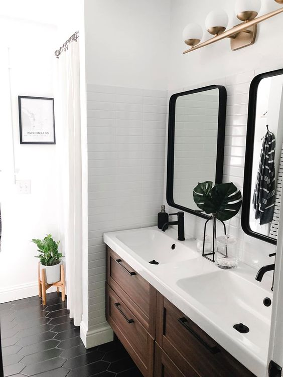 56 Trendy Mid-Century Modern Bathrooms To Get Inspired ...