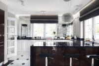 Elegant Art Deco Kitchen Design With Glam Touches - DigsDigs