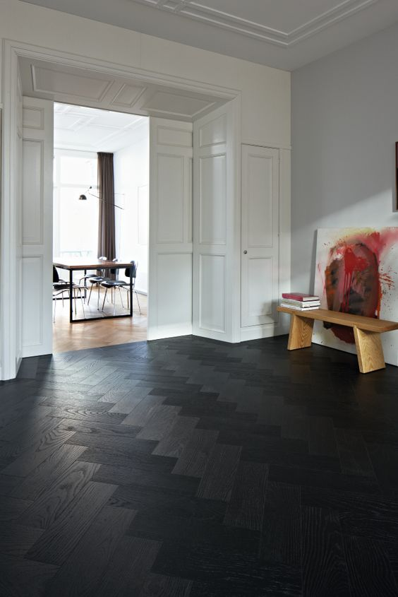 dark floors grey walls living room brown leather couch decorating ideas 3 types and 26 to pull them off - digsdigs