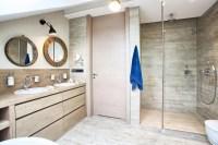 Attic Modern Master Bedroom And Bathroom Decor - DigsDigs