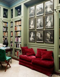 27 Daring Red And Green Interior Dcor Ideas - DigsDigs