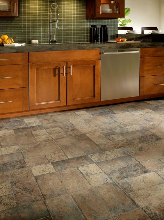 Kitchen Floor Tile Pattern Ideas