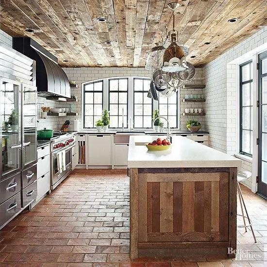 kitchen floors modern light 30 practical and cool looking flooring ideas digsdigs reused brick