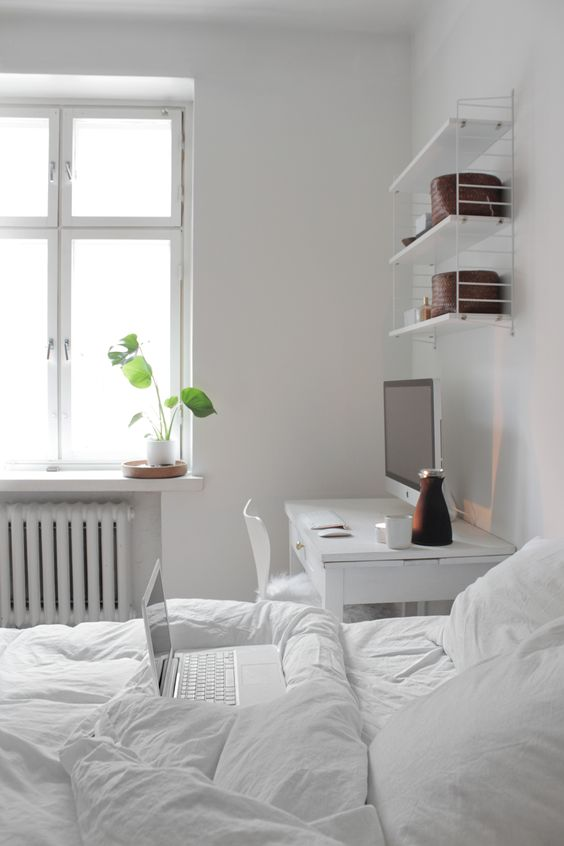 27 Cool Bedrooms And Workspaces In One  DigsDigs