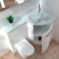 32 Stylish Toilet Sink Combos For Small Bathrooms - DigsDigs