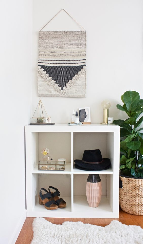 kitchen shelf display ideas grey rugs 40 ikea kallax décor and hacks you'll like ...