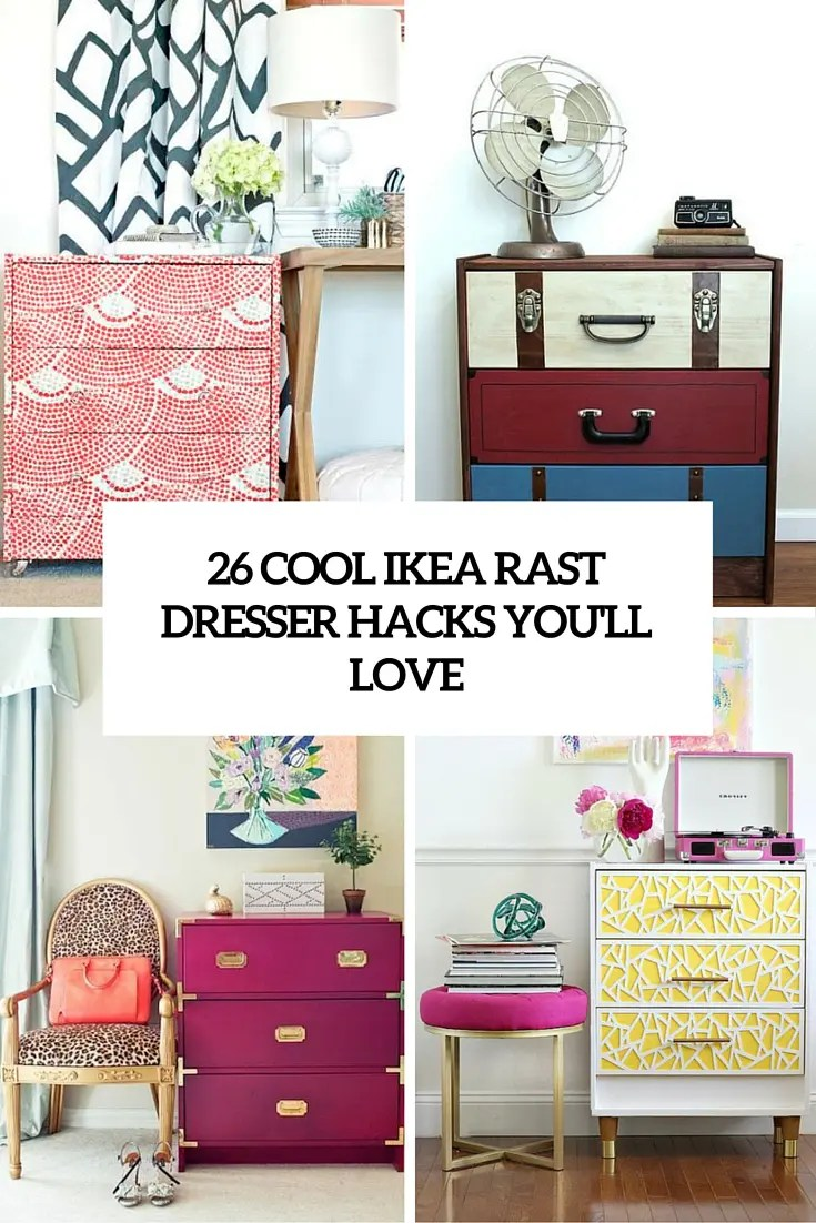 26 Cool IKEA Rast Dresser Hacks Youll Love  DigsDigs