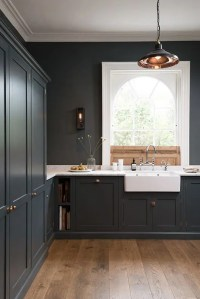 27 Moody Dark Kitchen Dcor Ideas - DigsDigs
