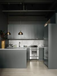 27 Moody Dark Kitchen Dcor Ideas - DigsDigs