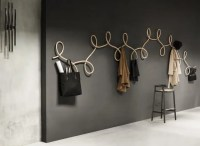 Sculptural Coat Rack Inspired By Waltz Dancing - DigsDigs