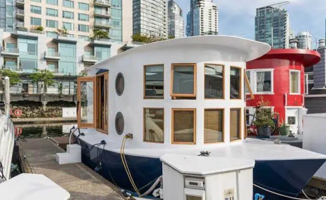 Tiny Nautical Styled Floating House In Vancouver Digsdigs