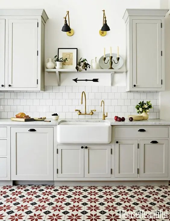 types of kitchen flooring pros and cons bar stools counter height 30 tile ideas with - digsdigs