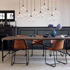 Chair Rail Pros And Cons Cushioned Office 33 Wainscoting Ideas With Digsdigs Black In An Industrial Dining Space