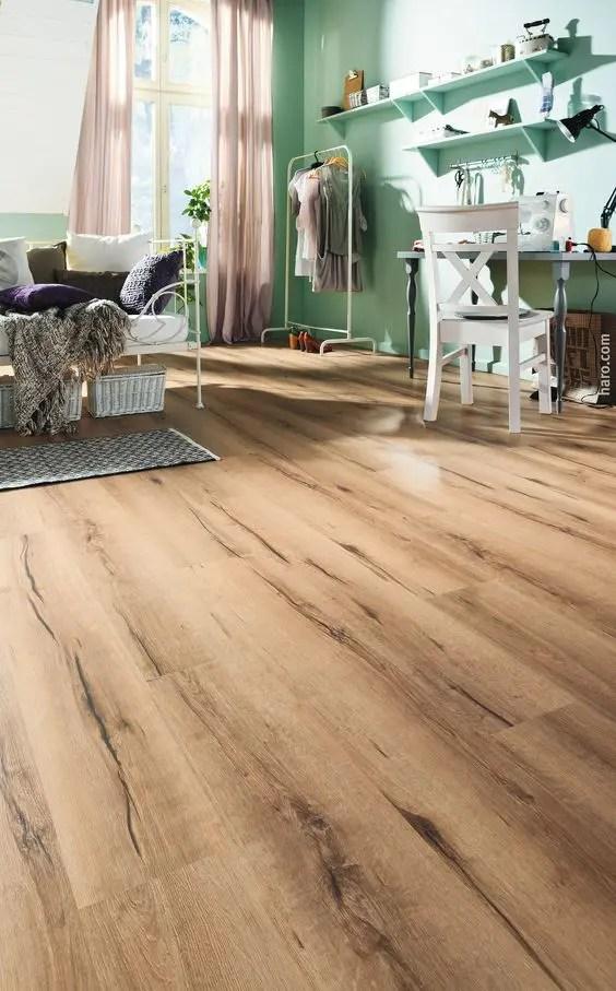 living rooms with dark wood floors room rocking chair 32 cool cork flooring ideas for maximum comfort - digsdigs