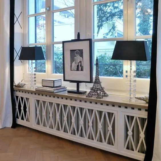 27 Stylish Radiator Covers And Screens For Any Space  DigsDigs
