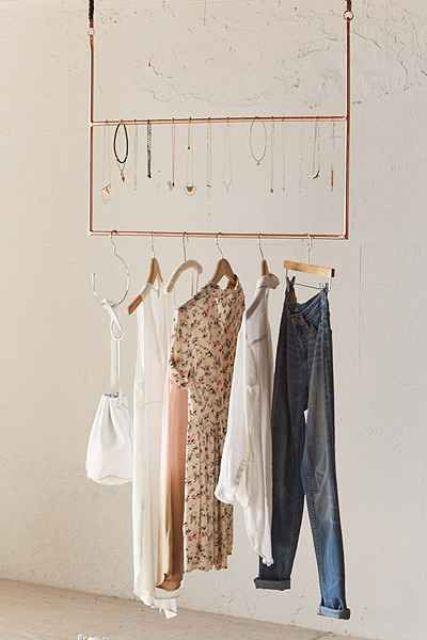 26 Clothes Racks For Homes With No Closet Space