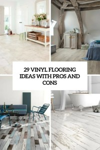 29 Vinyl Flooring Ideas With Pros And Cons