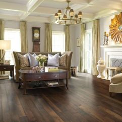 Living Room Decor With Hardwood Floors Statues 31 Flooring Ideas Pros And Cons Digsdigs Distressed For A