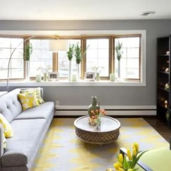 Grey And Yellow Living Room Decorating Ideas French Country 29 Stylish Decor Digsdigs Modern Dove Infused With Bold Details Looks Refreshing