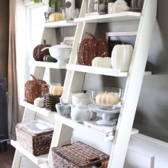 Kitchen Shelf Display Ideas Blackboard 34 Chic Neutral Fall Décor You'll Like - Digsdigs