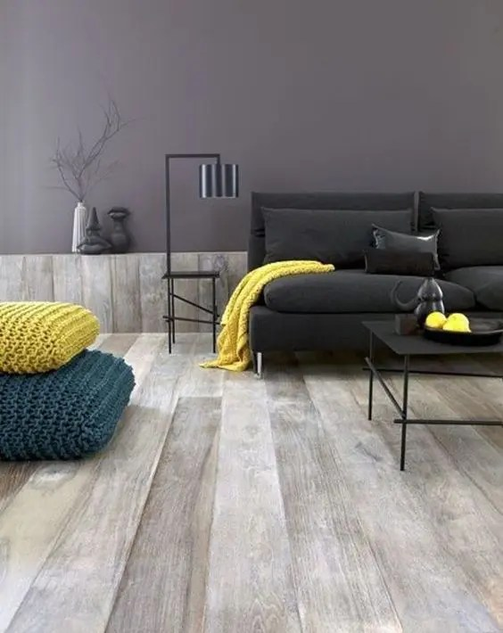 29 Stylish Grey And Yellow Living Room Dcor Ideas  DigsDigs