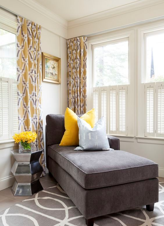 gray and yellow curtains for living room the boston 29 stylish grey décor ideas - digsdigs