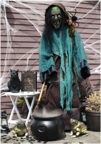 34 Witch-Themed Halloween Decorations To Create An ...