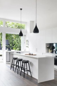 34 Timelessly Elegant Black And White Kitchens