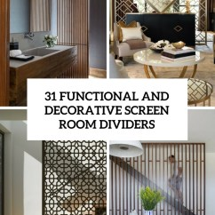 Decorative Screens For Living Rooms Yellow And Grey Room Wallpaper 31 Functional Screen Dividers Digsdigs Cover