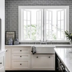 Soft Kitchen Flooring Options Wood Cabinets 35 Ways To Use Subway Tiles In The - Digsdigs