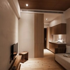 Interior Design Modern Small Living Room How To Decorate A Long With Fireplace In The Middle 26 Serene Japanese Decor Ideas Digsdigs An Extensive Use Of Light Wood And Cream Walls