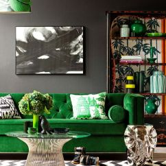 Lime Green And Red Living Room Ideas Designs With Wood Stove 30 Grey Decor Digsdigs Bold In Black White Bright Splashes Touches
