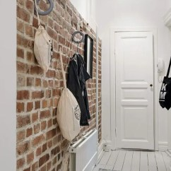 How To Build A Kitchen Cabinet Photos Of Cabinets 30 Trendy Brick Wall Ideas For Entryways - Digsdigs