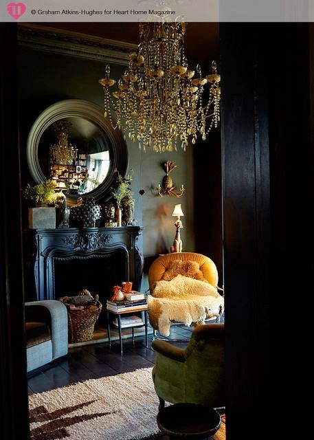 30 Dark Moody Living Room Dcor Ideas  DigsDigs