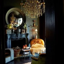 Dark Sofa In Small Living Room Recliner With Chaise Lounge 30 Moody Décor Ideas - Digsdigs