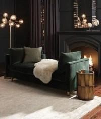 30 Dark Moody Living Room Dcor Ideas - DigsDigs